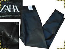 ZARA Jeans Eco Leather 32 34 US / 48 50 Italy  Until - 85 % ¡¡¡ ZA01 TOL2