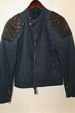 Belstaff Goodwood Sports and Racing Quilted Leather Detail Jacket Size 46