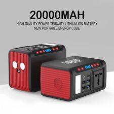 110v 220v Portable Power Station 85W Ac Output Solar Power Generator Charger