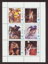St. Vincent 1988 Olympics SS, SPECIMEN ovpt.