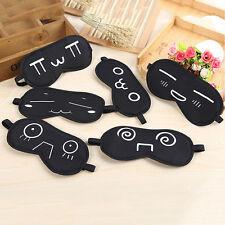 Schlafenaugenmaske Black Shade Schlafmaske Black Mask Bandage FL
