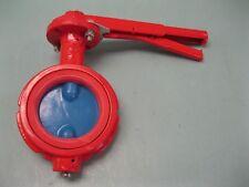4 Tuff Red Sandblaster 030 905 Abrasive Service Butterfly Valve New Z99 2403