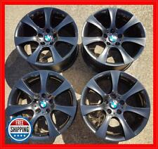 "BMW 525i 528i 530i 535i 2004-2010 OEM WHEELS 18"" Rims 59475 79 BLACK CHROME #S"