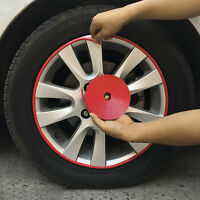 1x 8m Car Auto Motorcycle Wheel Rims Sticker Hub Tire Rims Protective Decal Top