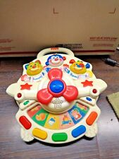 2001 FISHER PRICE SMARTRONICS HIGH FLYIN BABY TOY 73409 ENGLISH SPANISH FRENCH