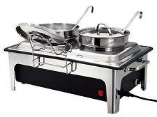 Bartscher Suppenstation Elektro Bain Marie 2 X 4 Liter Chafing Dish 500840