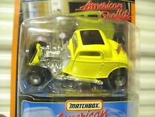 MATCHBOX 1998 SPECIAL EDITION #17 AMERICAN GRAFFITI STAR CAR '33 FORD CPE NuBXD*