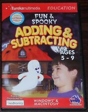 PC CD. Fun & Spooky Adding & Subtracting Ages 5-9