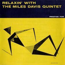 Miles Davis RELAXIN' WITH THE MILES DAVIS QUINTET (OJC190) New Sealed Vinyl LP