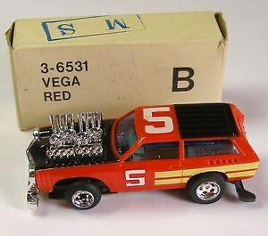 1976-78 Lionel Power passers Vega Slot Less Car 6531