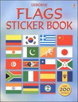 Usborne Flags Sticker Book by Lisa Miles (Paperback) FREE shipping $35