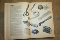 Fachbuch Hausschneiderei, Schneiderbuch, Schneidern, Nähen, Schnitte, DDR 1969
