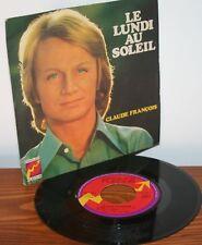 vinyle claude François rare édition single fleche / le lundi au soleil / Belinda