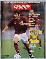 L'Equipe Magazine 13/4/1996; Zinedine Zidane/ Roger De Vlaeminck/ Foot télé busi