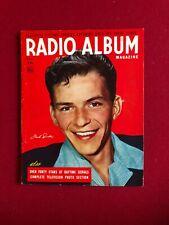 "1948, Frank Sinatra, ""Radio Album"" Magazine (No Label ) Scarce / Vintage"
