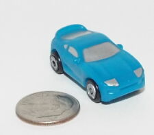Small Micro Machine Plastic Toyota Supra in Blue