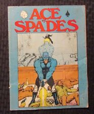 1973 ACE OF SPADES #1 VG- 3.5 NY World's Comic Book Exposition Edition