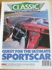 CLASSIC & SPORTSCAR MAGAZINE APR 1991 SPORTS CAR CITROEN 2CV TRIUMPH VITESSE