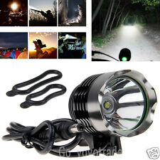 3000Lm CREE XM-L T6 SSC LED 3-Mode Bike Bicycle Front Head Light Headlamp Torch