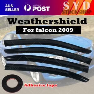 Weathershields Weather shields for Ford Falcon  FG 08-17 model Sun Visors AU