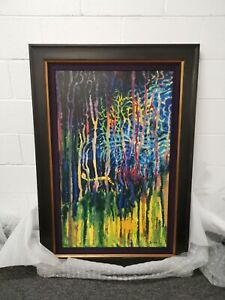 SEUSS - WORM BURING BRIGHT IN THE FOREST IN THE NIGHT - NEW FRAMED