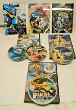 POKEMON DVD LOT Lacario Mystery of Mew, Black White, Giratina, Arceus Jewel life