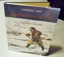 Environmental Science A Global Concern Cunningham - Saigo 6th Edition w/CD