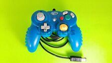 Mad Catz Blue Gamecube Controller, Original 3rd Party Game Cube Remote, Tight