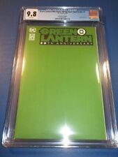 Green Lantern 80th Anniversary Spectacular #1 Green Variant CGC 9.8 NM/M Gem Wow