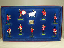 BRITAINS 5191 BRITISH ROYAL WELCH FUSILIER LIMITED EDITION METAL TOY SOLDIER SET