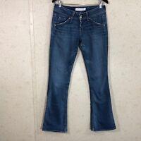 Hudson Flare Leg Jeans Flap Pockets Medium Wash Denim Women's Size 29