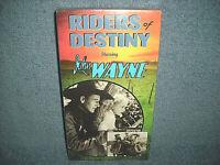 RIDERS OF DESTINY - VHS - JOHN WAYNE - BRAND NEW SEALED