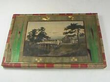 15 Antique Japanese Landmarks Stationary Letters Early Colored Photograph Japan