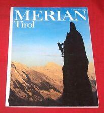 Merian Heft 42. Jg.- 1989 Nr  4 , Tirol , TOP