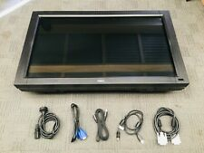 Touch screen monitor 32'' LCD Commercial grad with glass touch Display HDMI DP