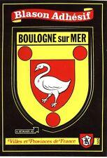 carte Kroma écusson BOULOGNE SUR MER 505 héraldique blason wappen coat of arms