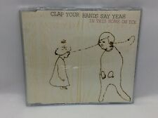 Clap Your Hands and say yeah in this home on ice  3 track cd single