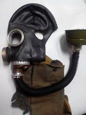 GAS MASK GP-5M (PMG-2)  Black (Mask,Filter,Hose,Bag), New, Genuine, Soviet Army