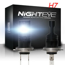 NIGHTEYE H7 160W Car LED Fog Light Bulbs Kit Halogen Lamp Xenon 6500K White AU