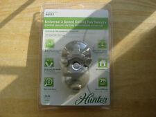 Hunter Universal 3 Speed Ceiling Fan Remote - Model 99122 - NEW SEALED