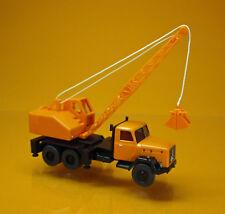 Wiking 066203 Magirus Deutz Kommunal - Kranwagen ( Aufbau Fuchs ) orange