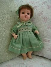 HEUBCH KOPPELSDORF PAINTED BISQUE HEAD AND BODY DOLL