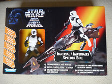 NEW POTF star wars IMPERIAL SPEEDER BIKE POWER OF THE FORCE action figure
