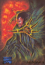 1995 MARVEL MASTERPIECES ERROR CARD CRIMPED WRAPPER IMPRINT #66 MANDARIN