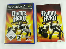 Playstation 2 PS2 VF Guitar Hero World Tour BOITE VIDE notice PAS DE JEU