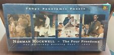 Norman Rockwell The Four Freedoms 750 Pieces Panoramic Puzzle New 38.25 x 11.25