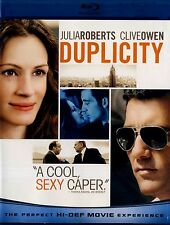 USED BLU-RAY // DUPLICITY // Julia Roberts, Clive Owen, Tom Wilkinson, Paul Giam