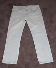 Womens size 10 stretch slim fit cropped denim jeans made by SPORTSGIRL