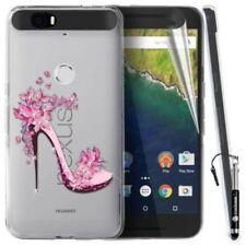 Étuis, housses et coques transparents, du modèle Pour Huawei Nexus 6P en silicone, caoutchouc, gel pour téléphone mobile et assistant personnel (PDA)