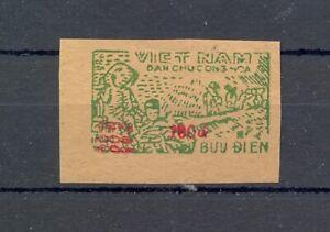 VIETNAM LOCAL STAMP (RED OVERPRINT ) ---(*) VF